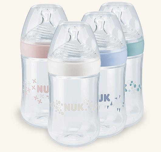 בקבוק לתינוק NUK Nature Sense 260 ml